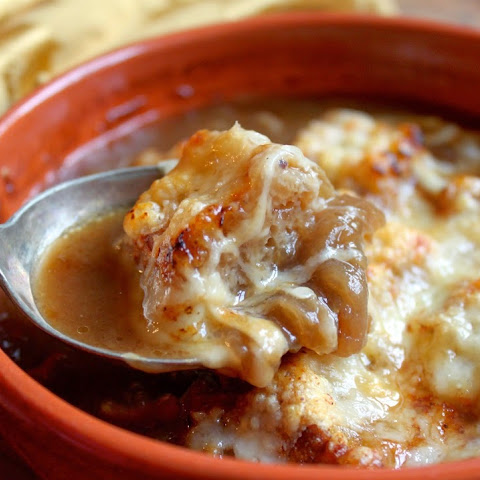French Onion Soup (almost like Julia's)