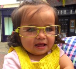 Jasmins new glasses