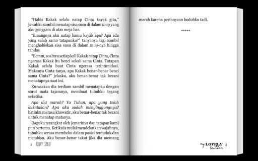 Novel My Lovely Brother Full - screenshot
