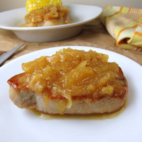Easy Pineapple Pork Chops