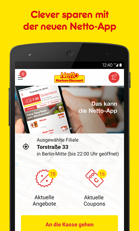 Netto App - Angebote & Coupons Screenshot 0