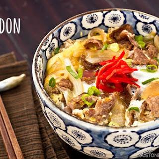 Gyudon Recipes