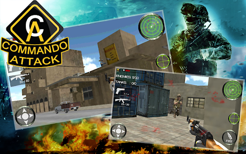 Commando Attack 3D - screenshot