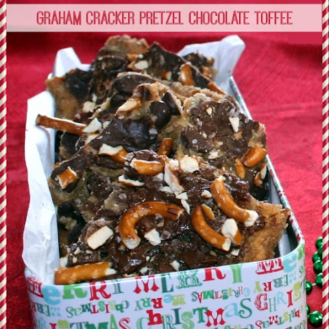 Graham Cracker Pretzel Chocolate Toffee