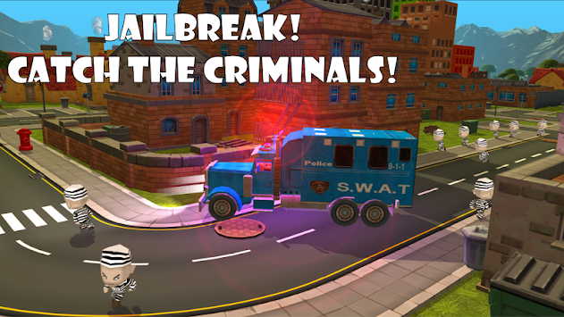 Police Car Chase Sim 911 FREE APK screenshot thumbnail 8