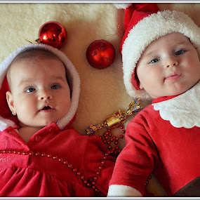 Merry Christmas by Zsuzsi Zsidai - Babies & Children Babies ( babies, merry, first christmas, christmas, merry christmas )
