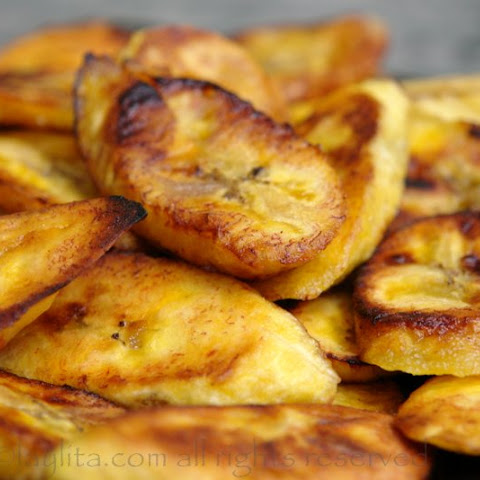 Fried ripe plantains - Platanos maduros fritos