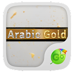 Arabic Gold GO Keyboard Theme 3.87 Apk