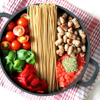 Pasta With Cherry Tomatoes And Sausage Recipes