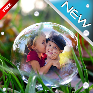 Bubble Photo Frame