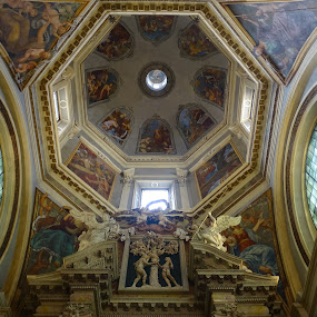 Interior of  Trento  Cathedral  by Patrizia Emiliani - Buildings & Architecture Public & Historical ( trento, cathedral, italy,  )