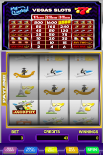 My Lucky Vegas Slots - screenshot