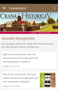 Crana Historica - screenshot