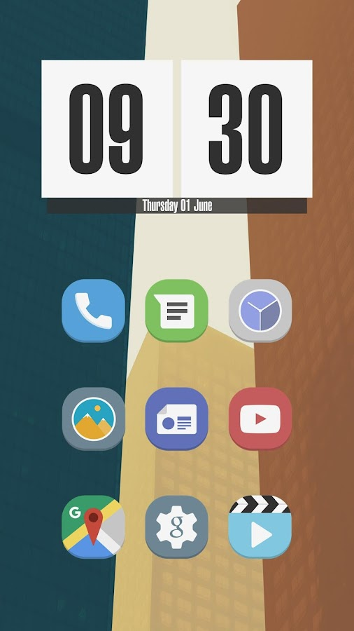 Stock UI - Icon Pack Screenshot 1
