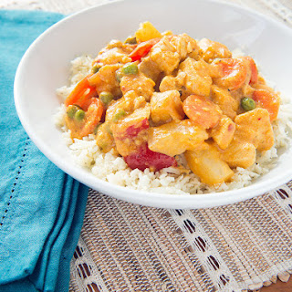 Chicken Korma With Cauliflower Rice