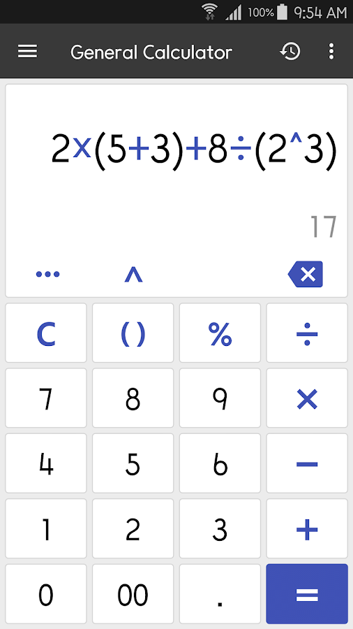 ClevCalc - Calculator Screenshot 1