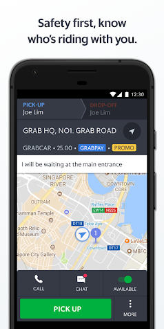 Grab Driver Screenshot