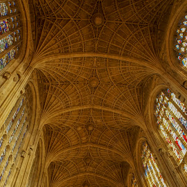 King's College, Cambridge by Yordan Mihov - Buildings & Architecture Places of Worship ( uk, college, chapel, cambridge, king )