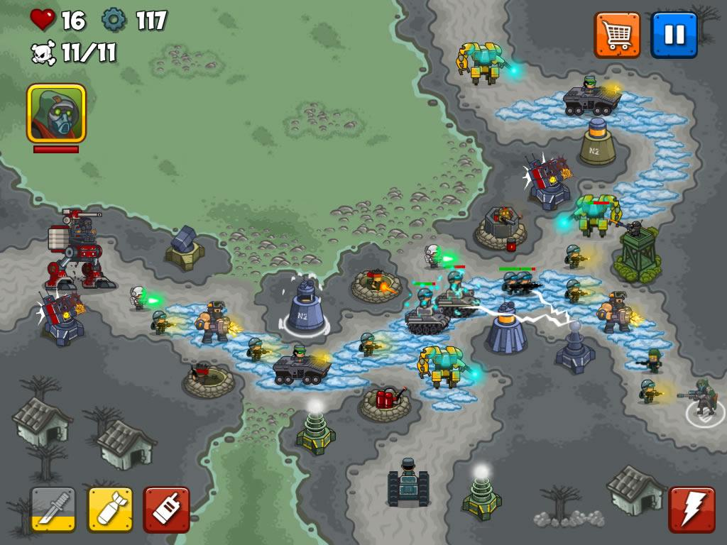 Combat Tower Defense Screenshot 11