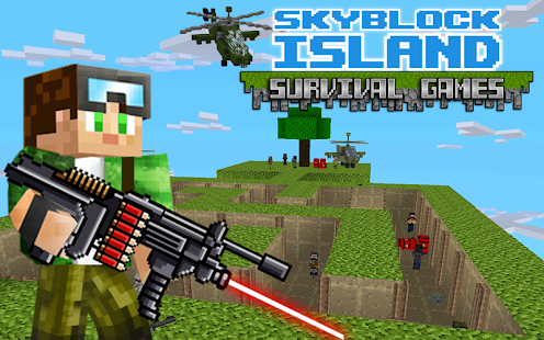 Game Skyblock Island Survival Games APK for Kindle