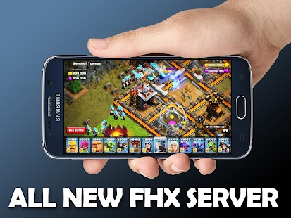 App New FHX Server Clash Of Eagle APK for Windows Phone