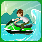 Download Ninja Ben Jetski 10 Racing Game APK on PC