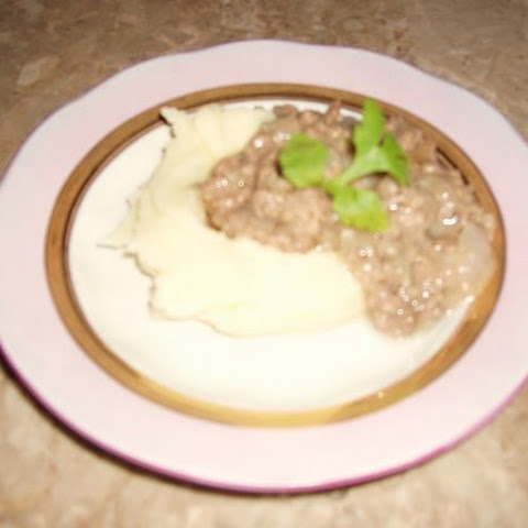 Estonian Gravy With Ground Beef