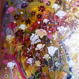 BLOSSOM 2 by Vesna Disich - Painting All Painting ( spring flowers )
