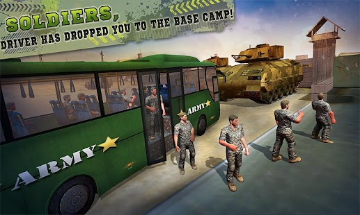 OffRoad US Army Bus Bus Fahrsimulator android spiele download
