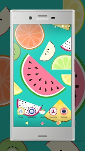 Xperia™ Fruit Salad Theme