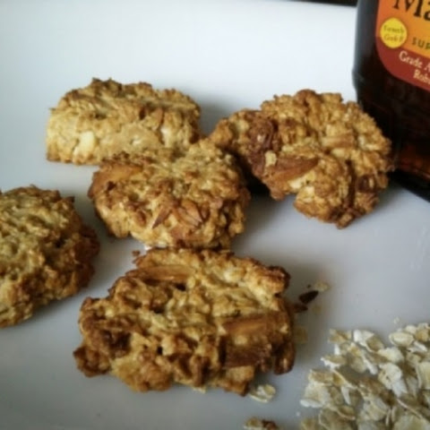 Eggless Maple Oats Cookies
