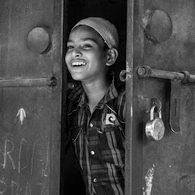 Step for freedom by Baidyanath Arya - Babies & Children Child Portraits