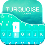 Green Turquoise Ocean Keyboard Icon