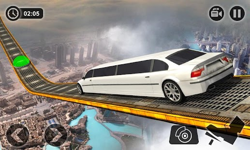 Unmöglicher Limo Driving Simulator Spiele Tracks android spiele download
