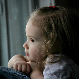 Rayla's Window by Jenny Hammer - Babies & Children Child Portraits ( pretty, toddler, baby, girl, cute )