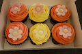 Wafer Daisy Cupcakes