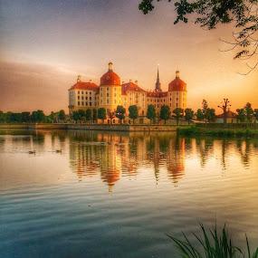 Moritzburg Castle by Briana Jones - Buildings & Architecture Public & Historical ( germany, castle )