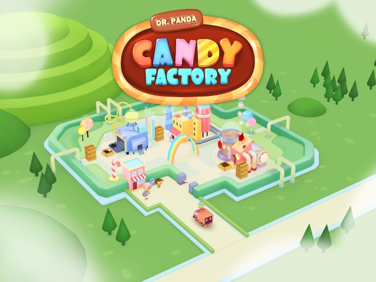 Dr. Panda Candy Factory Screenshot 0
