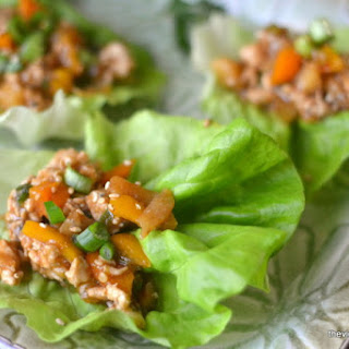 Spicy Ginger Lettuce Wraps
