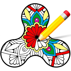 Coloring Book - Fidget Spinner Online PC (Windows / MAC)