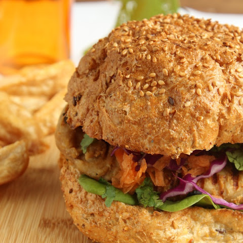 Chicken Satay Burgers Recipes — Dishmaps