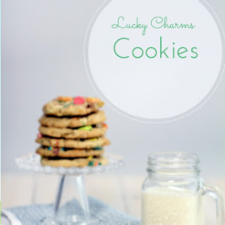 Lucky Charms Marshmallow Cookies