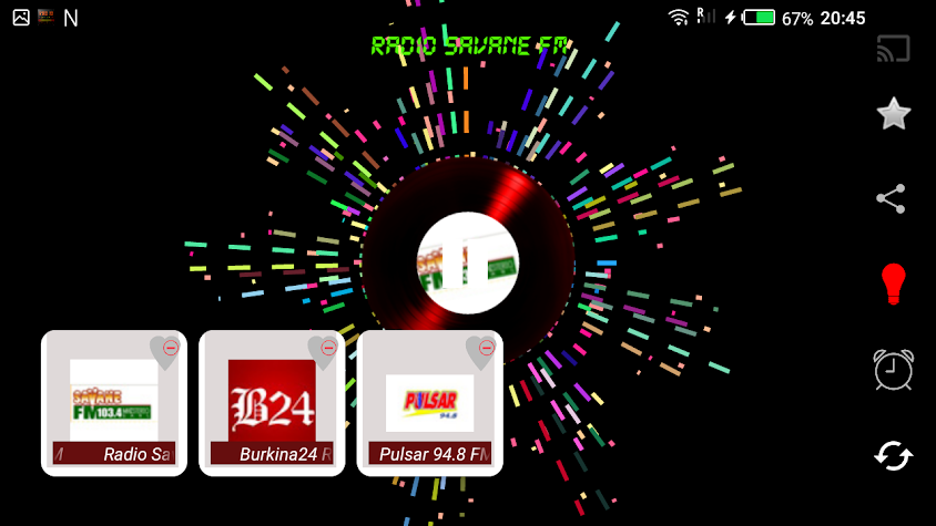 Stations de radio du Burkina Faso Screenshot