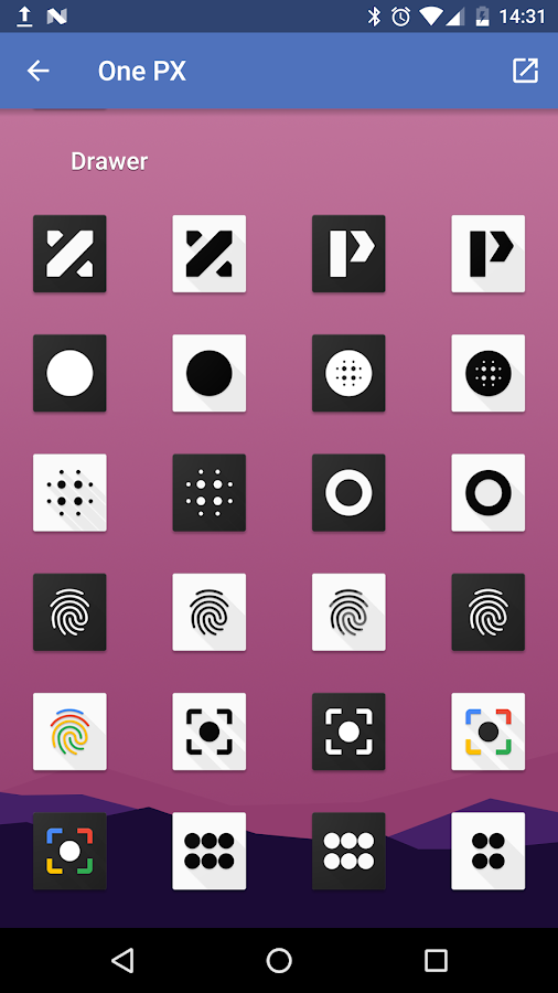 OnePX - Icon Pack Screenshot 6