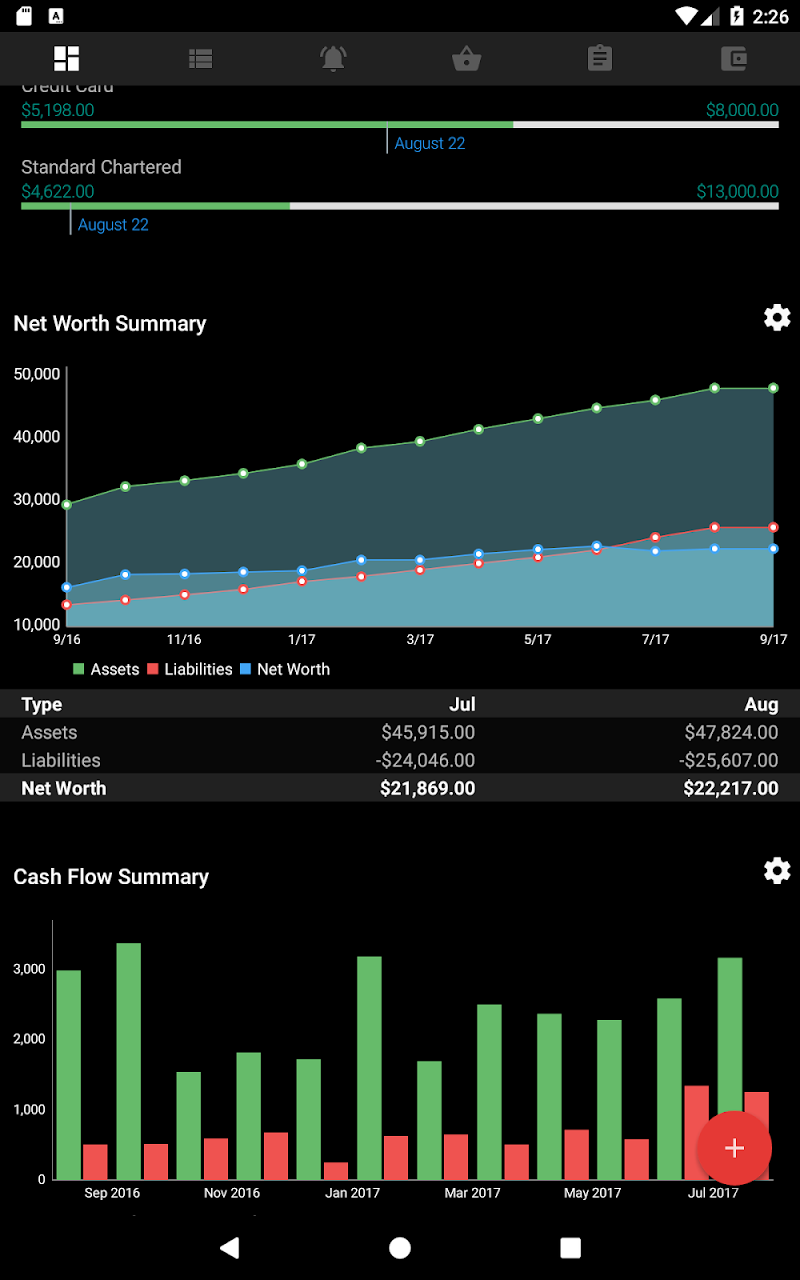 Bluecoins- Finance & Budget Screenshot 17