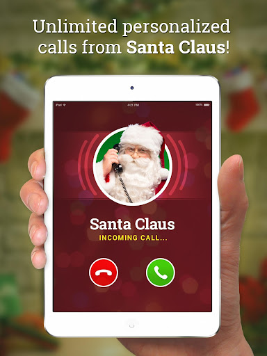 Message from Santa - phone call, voicemail & text screenshot 1