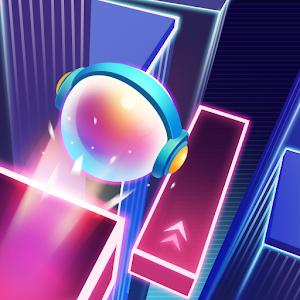 Dancing Sky :  EDM Music Ball Run For PC (Windows & MAC)