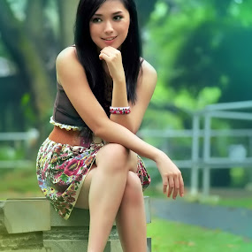 my smile.. by Agus Wahyudi Photoworks - People Portraits of Women