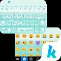 The sea of blue Kika Theme APK for Kindle Fire