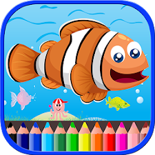 Sea Animal Coloring Book